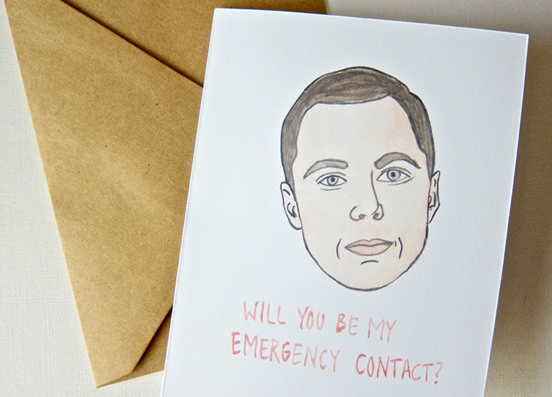 Funny Cute And Awkward DallasMade Valentines Cards – Awkward Valentines Card