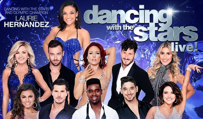 DANCING WITH THE STARS: LIVE! - WE CAME TO DANCE at Verizon
