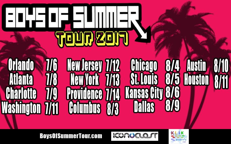 Boys Of Summer Tour 2017 At Granada Theater Central Track