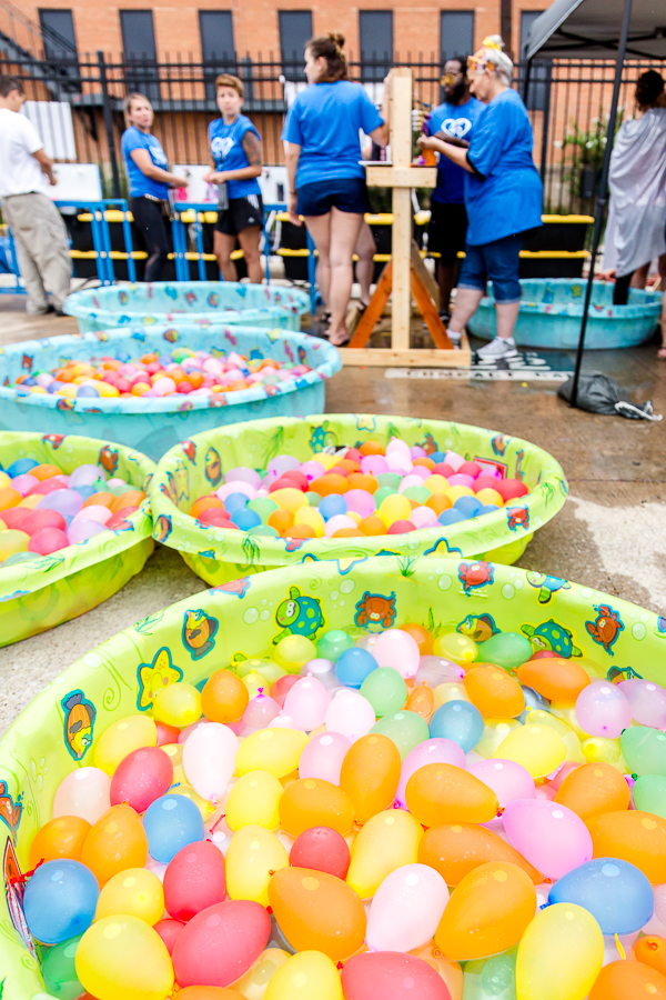Scenes From The 2017 Deep Ellum Water Balloon War  | Central