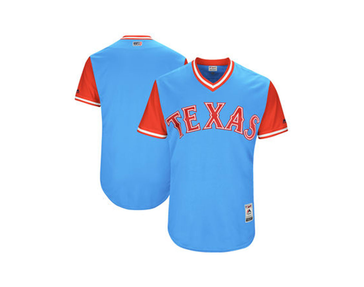 732c43967aa The Texas Rangers  Chosen Jersey Nicknames