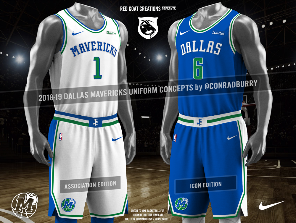 wholesale dealer 046b7 0f928 These Are The Unis The Dallas Mavericks Should Be Wearing ...