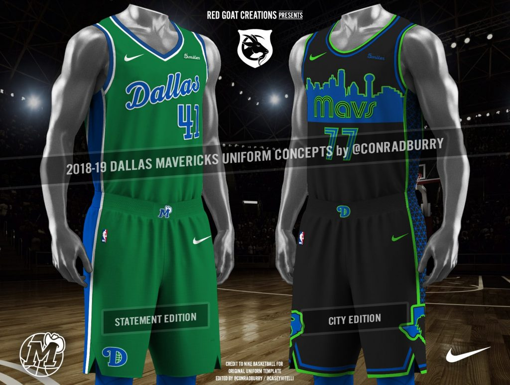 wholesale dealer be74a 30064 These Are The Unis The Dallas Mavericks Should Be Wearing ...