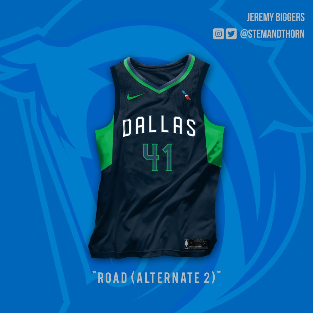 16f41167d These Are The Unis The Dallas Mavericks Should Be Wearing.