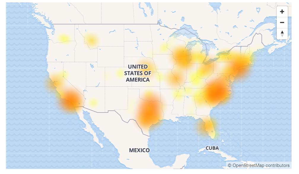 Att Outage Map Today