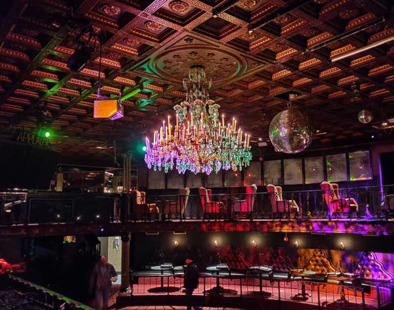 The Lizard Lounge's Iconic Chandelier Is Back!   Central Track
