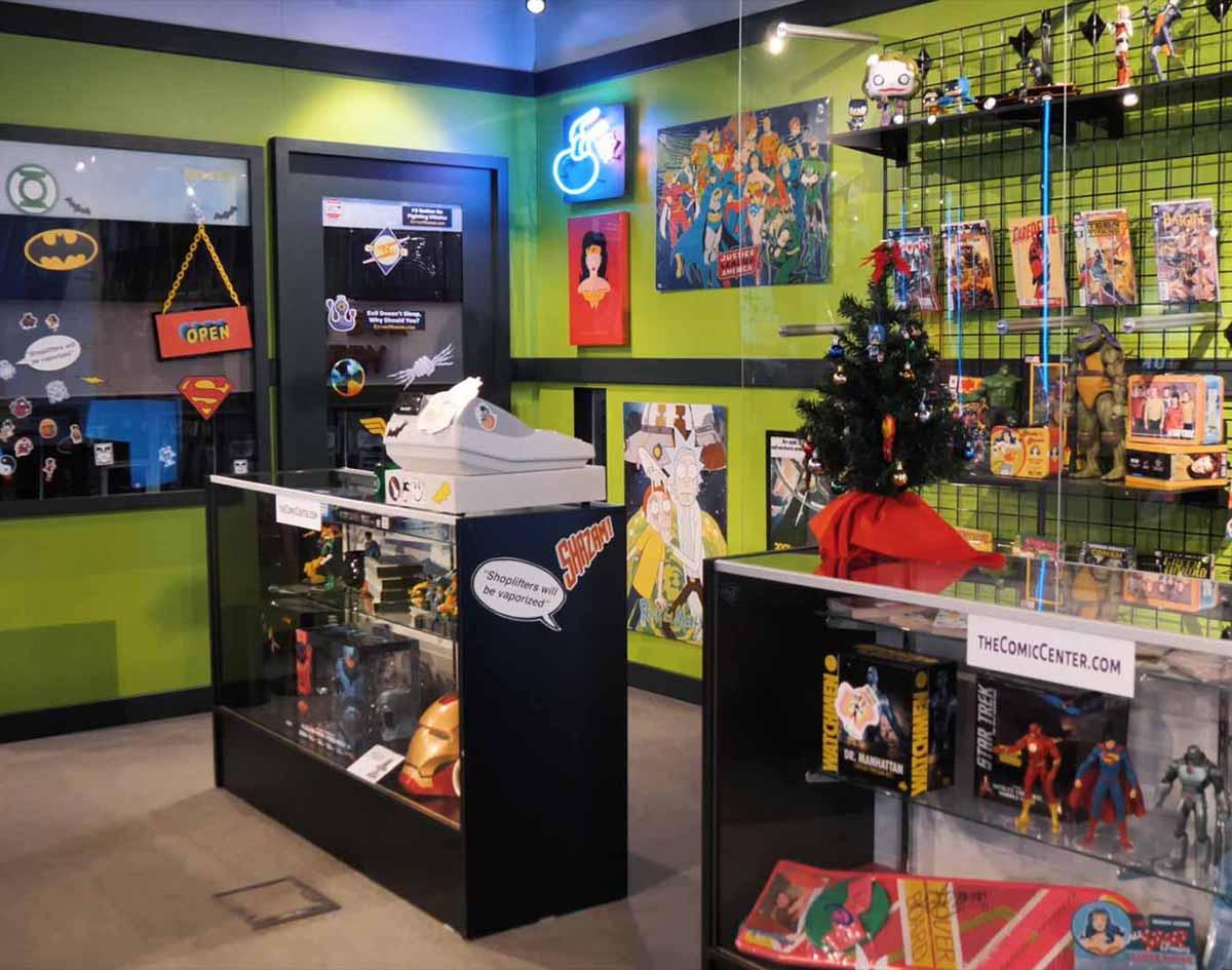 The Big Bang Theory's Comic Book Store Comes To Dallas ...
