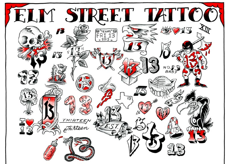 Flash forward central track for Tattoo nightmares shop website